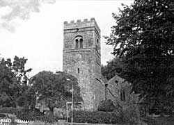 Norman tower of South Leverton church