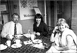 Left to right: John Beckett, Haidee Jackson, Janice Avery.