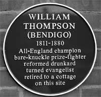 The plaque in Beeston unveiled on 11 October 2011. Photo: John Beckett.