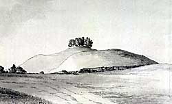 Annesley Castle in the late 18th century.