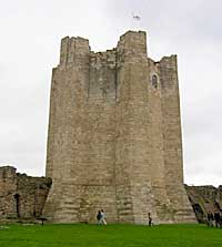 Conisborough Castle.