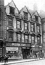The Oriental Cafe in the 1920s.