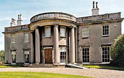 Scampston Hall, built in 1690 and remodeled 1795-80.