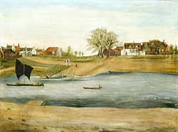 Gunthorpe in 1755. Photo by permission of Gunthorpe Parish Council.