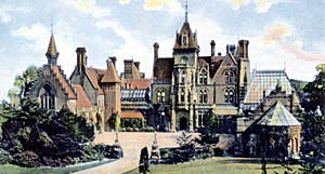 Bestwood Lodge, c.1905.