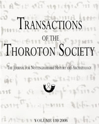 Cover of Transactions vol 110 (2006)