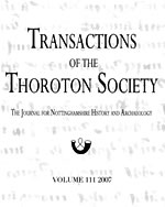 Cover of Transactions vol 111 (2007)